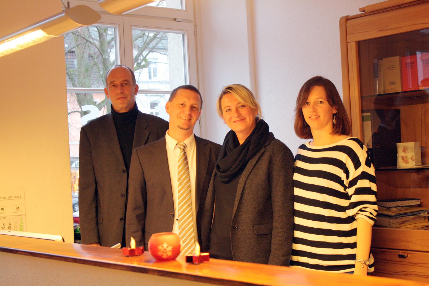 Die Anwaltskanzlei in Detmold
