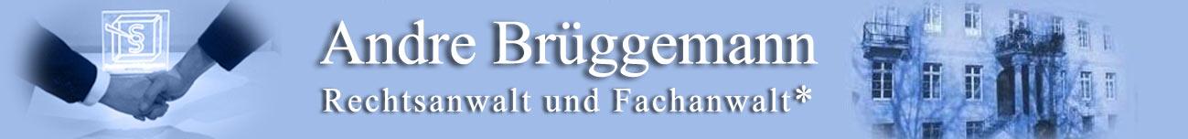 Rechtsanwalt Andre Brüggemann, Detmold Logo
